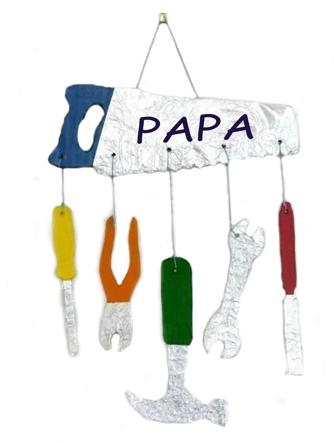Deurhanger gereedschappen voor vaderdag
